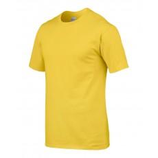 Tricou galben GILDAN