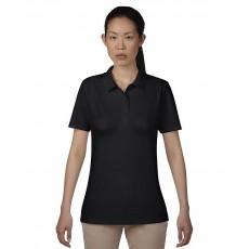 Tricou polo negru ANVIL pentru dama