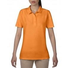 Tricou polo portocaliu ANVIL pentru dama