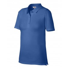 Tricou polo albastru ANVIL pentru dama