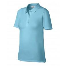 Tricou polo bleu ANVIL pentru dama
