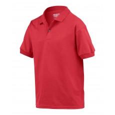 Tricou polo rosu pentru copii