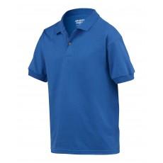 Tricou polo albastru pentru copii