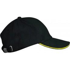 Sapca negru/galben K-UP