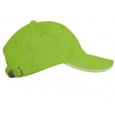 Sapca verde/alb K-UP
