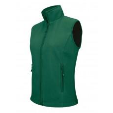 Vesta fleece verde KARIBAN