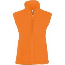 Vesta fleece portocalie KARIBAN