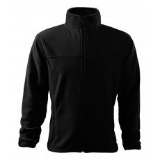 Jacheta fleece neagra, pentru barbati