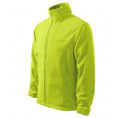 Jacheta fleece lime, pentru barbati