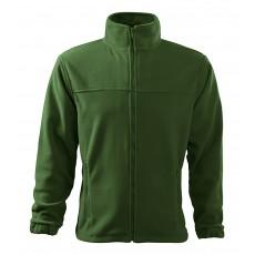 Jacheta fleece verde, pentru barbati