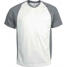 Tricou sportiv bicolor
