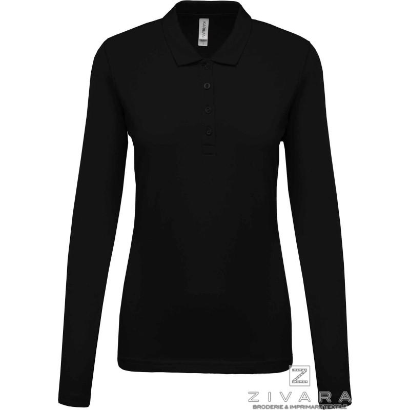 Bluza polo pique pentru dama