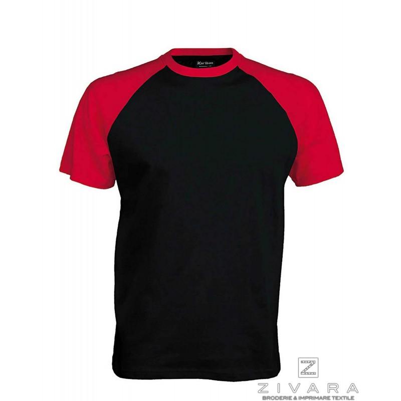 Tricou bicolor pentru barbati
