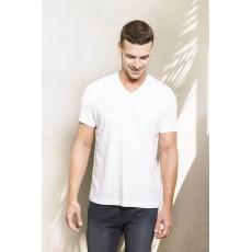 Tricou organic V-neck pentru barbati