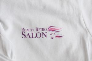 Tricou Logo Beauty Retro Salon
